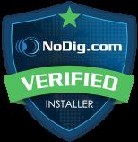 NoDig Verified Installer badge